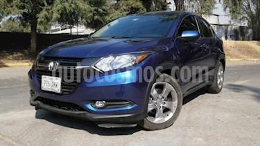 Honda HR-V 5P EPIC CVT QC F. NIEBLA RA-17 usado (2017) color Azul precio $298,000