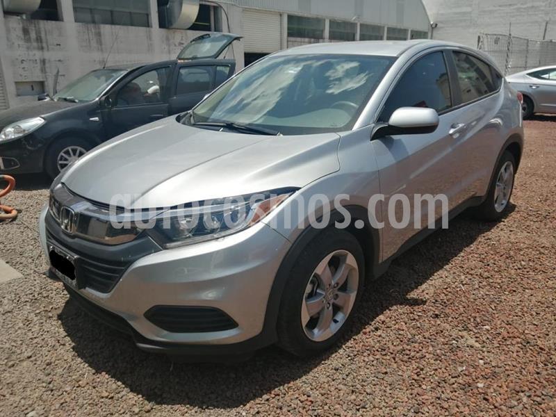 Honda HR-V Uniq usado (2019) color Plata Lunar precio $299,000
