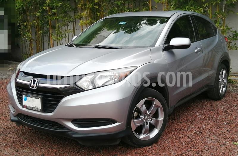 Honda HR-V Uniq Aut usado (2018) color Plata precio $270,000