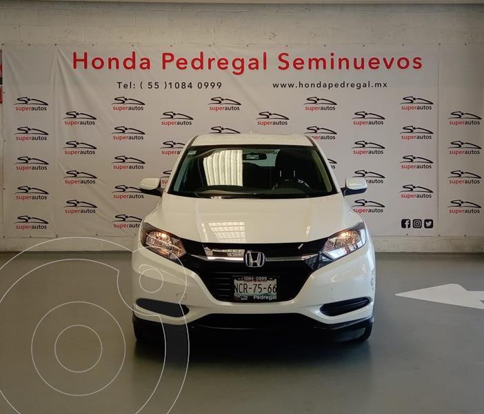 Honda HR-V Uniq usado (2018) color Blanco precio $259,000