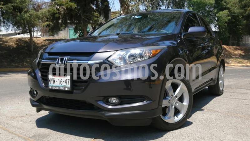 Honda HR-V 5P EPIC CVT QC F. NIEBLA RA-17 usado (2016) color Negro precio $245,000
