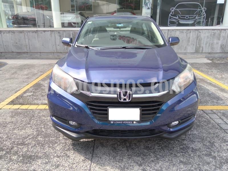 Honda HR-V Epic Aut usado (2016) color Azul precio $249,000