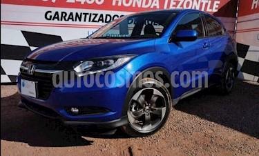 Honda HR-V Touring Aut usado (2018) color Azul Electrico precio $320,000
