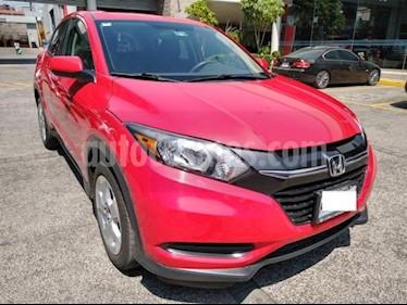 Honda HR-V 5P UNIQ AT RA-17 usado (2016) color Rojo precio $265,000