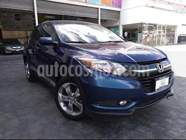 Honda HR-V 5P EPIC CVT QC F. NIEBLA RA-17 usado (2017) color Azul precio $259,000