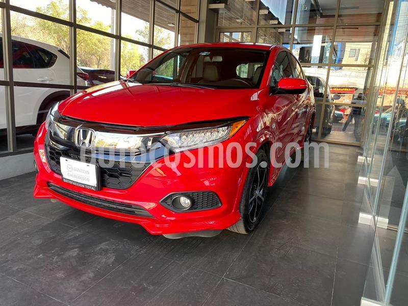 Honda HR-V Touring Aut usado (2020) color Rojo precio $389,000