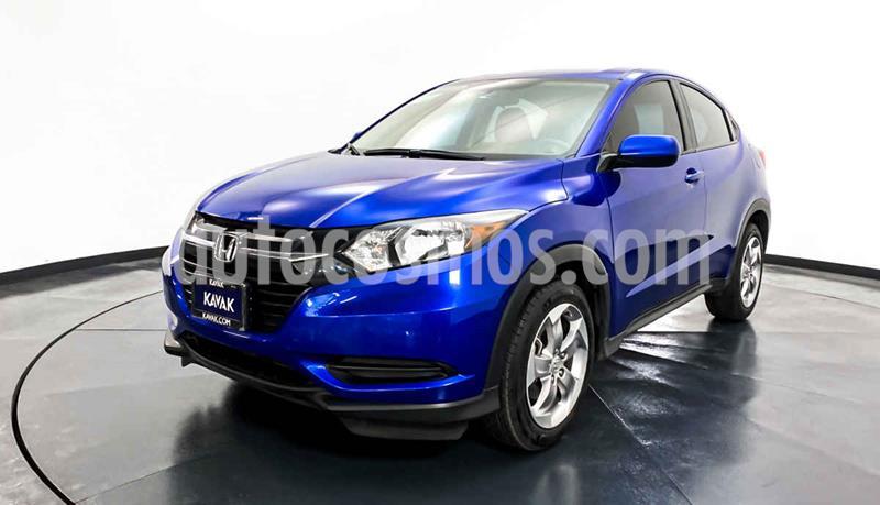 Honda HR-V Uniq Aut usado (2018) color Azul precio $292,999