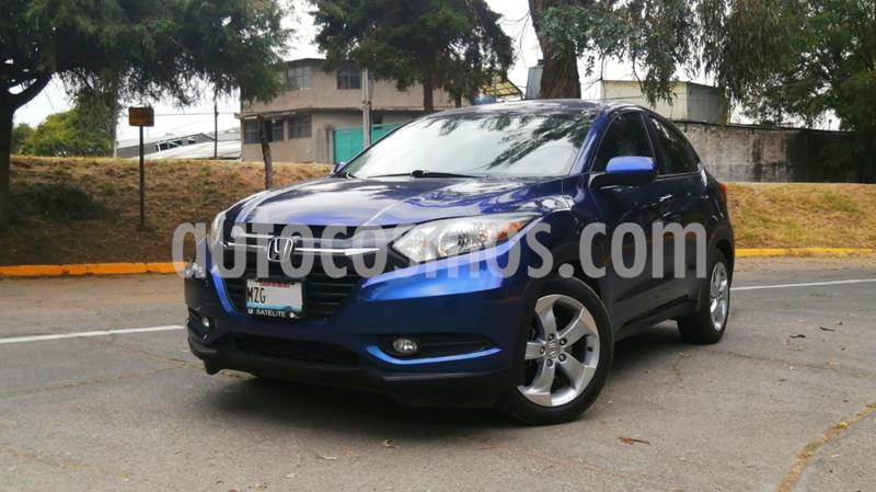 Honda HR-V Epic Aut usado (2016) color Azul precio $260,000