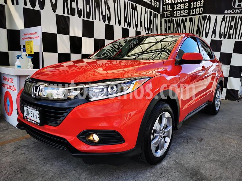 Honda HR-V Uniq Aut usado (2019) color Rojo Milano precio $315,000