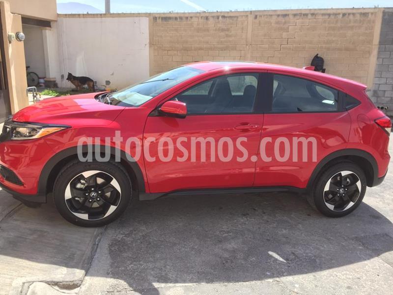 Honda HR-V Prime Aut usado (2020) color Rojo precio $370,000
