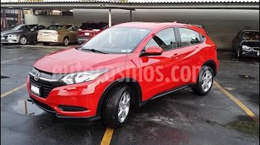 Honda HR-V Uniq Aut usado (2016) color Rojo Milano precio $210,000