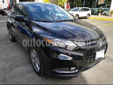 Honda HR-V 5P EPIC CVT QC F. NIEBLA RA-17 usado (2018) color Negro precio $359,000
