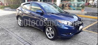 Honda HR-V 5P EPIC CVT QC F. NIEBLA RA-17 usado (2017) color Azul precio $279,000