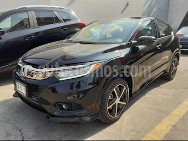 Honda HR-V 5P TOURING CVT PIEL QC F. LED RA-17 usado (2019) color Negro precio $375,000