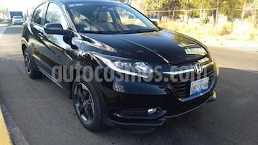 Honda HR-V 5P TOURING CVT PIEL QC F. LED RA-17 usado (2018) color Negro precio $348,900