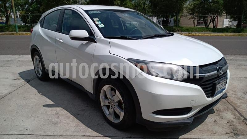 Honda HR-V Uniq Aut usado (2016) color Blanco precio $218,000