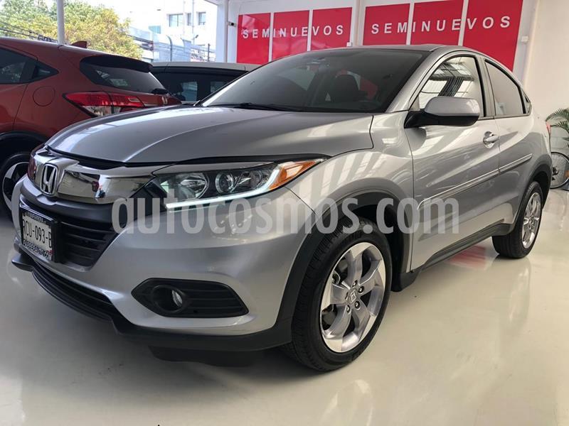 Honda HR-V Uniq usado (2019) color Plata Dorado precio $319,100