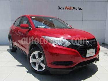Honda HR-V Uniq Aut usado (2016) color Rojo Milano precio $209,000