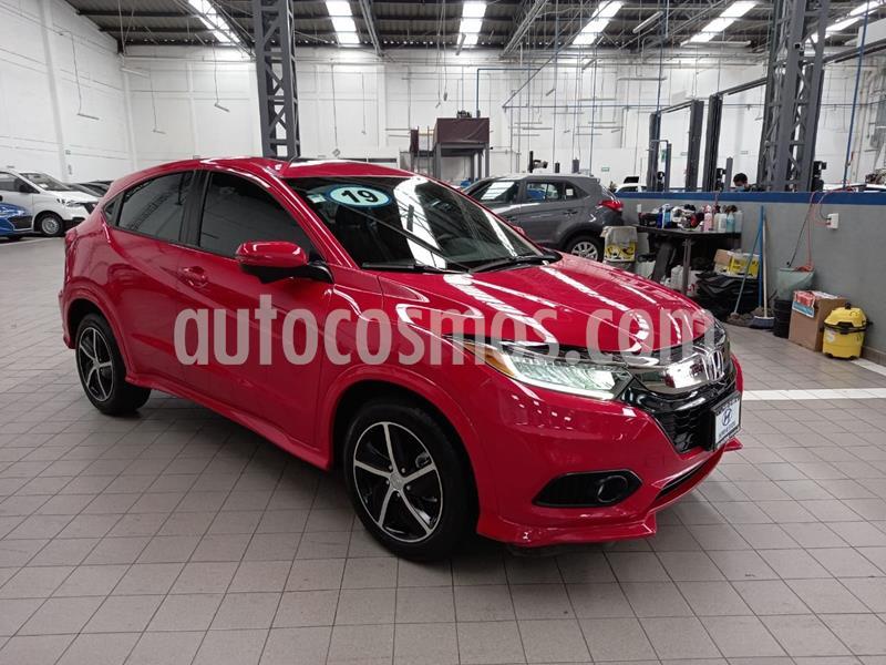 Honda HR-V Touring Aut usado (2019) color Rojo precio $370,000