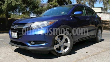 Honda HR-V 5P EPIC CVT QC F. NIEBLA RA-17 usado (2016) color Azul precio $278,000
