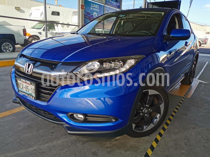 Honda HR-V Touring Aut usado (2018) color Azul precio $295,000