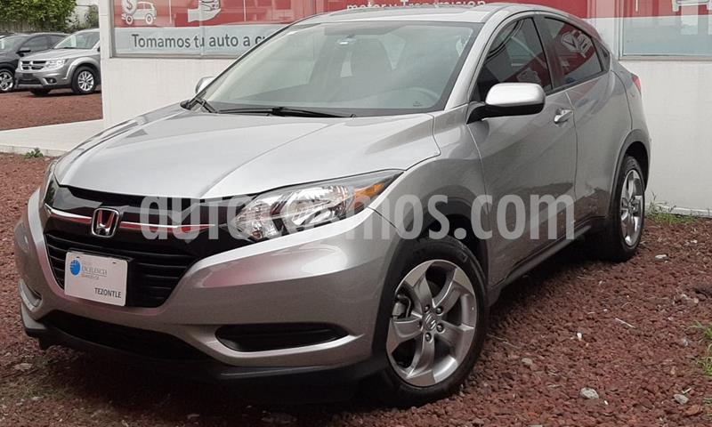Honda HR-V Uniq usado (2017) color Plata precio $260,000