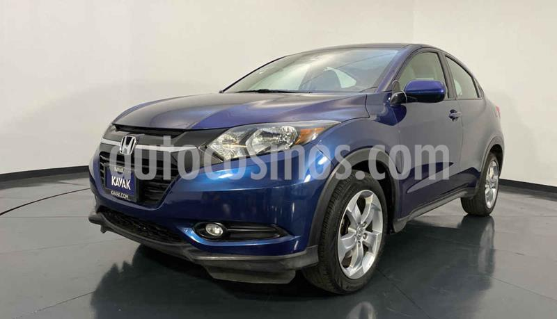 Honda HR-V Version usado (2016) color Azul precio $259,999