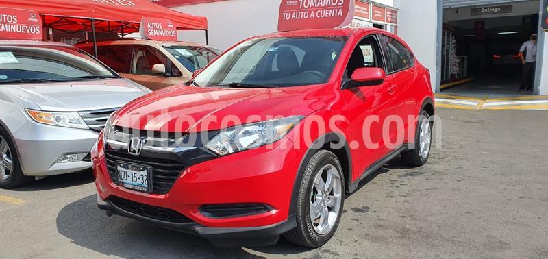 Honda HR-V Uniq usado (2016) color Rojo Milano precio $245,000