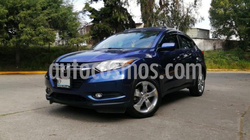 Honda HR-V Epic Aut usado (2017) color Azul precio $275,000
