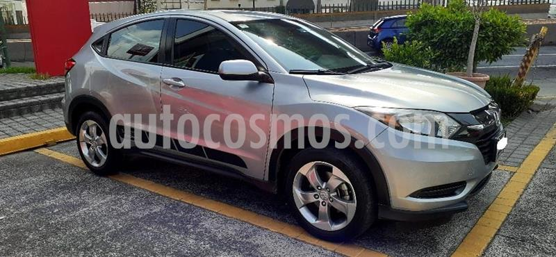 Foto Honda HR-V Uniq usado (2017) color Plata precio $255,000