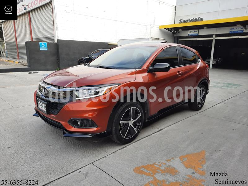 Honda HR-V 1 Millon Edition Aut usado (2019) color Naranja precio $345,000