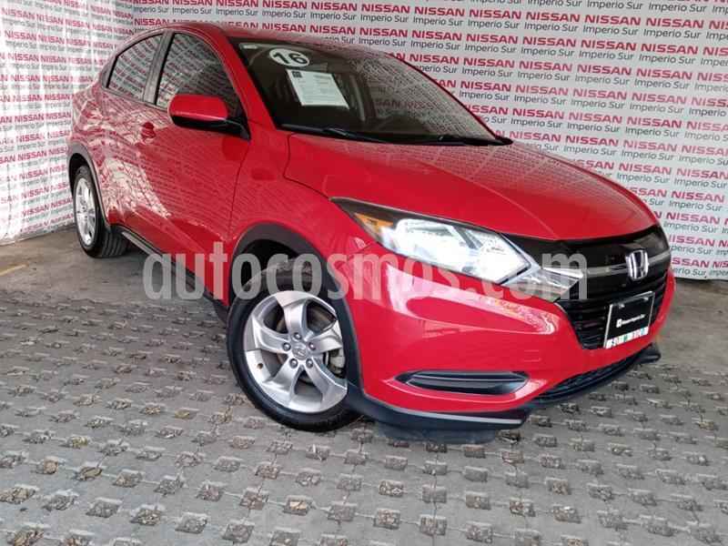 Honda HR-V Uniq usado (2016) color Rojo Milano precio $210,000