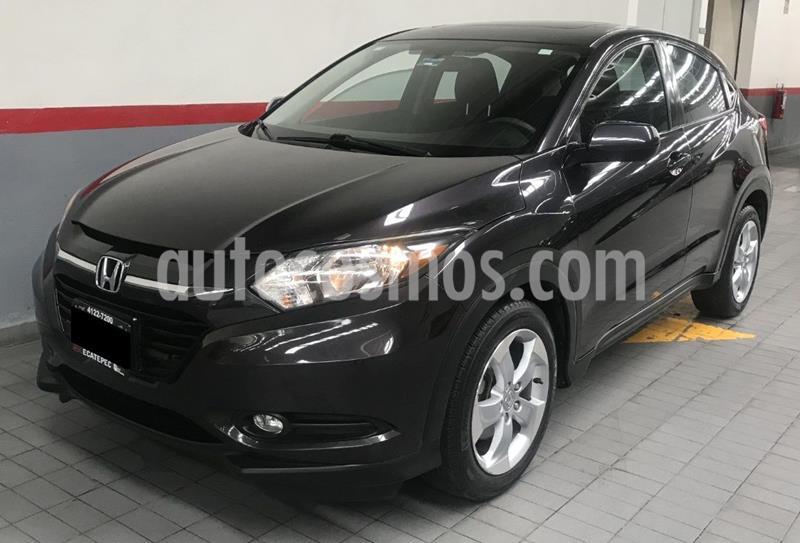 Honda HR-V Uniq usado (2016) color Negro precio $229,000