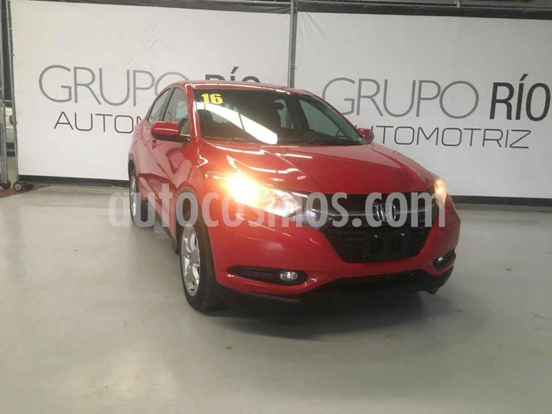 Honda HR-V Version usado (2016) color Rojo precio $239,000