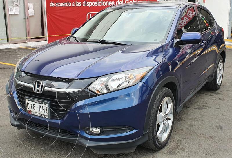 Honda HR-V Epic Aut usado (2016) color Azul Oscuro precio $250,000