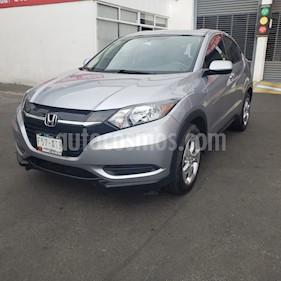 Honda HR-V Uniq usado (2018) color Plata Diamante precio $280,000