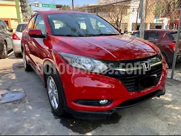 Honda HR-V Uniq Aut usado (2016) color Rojo precio $249,000