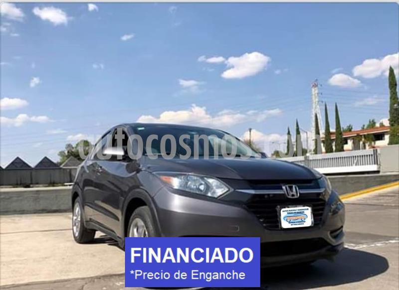 Honda HR-V Uniq usado (2018) color Gris precio $49,399