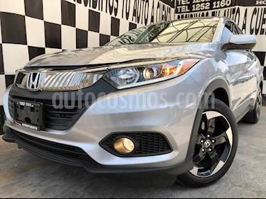 Honda HR-V Prime Aut usado (2020) color Plata Lunar precio $369,000