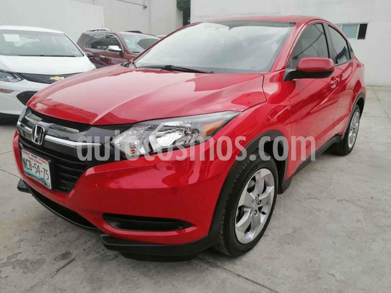Honda HR-V Uniq usado (2017) color Rojo precio $235,000