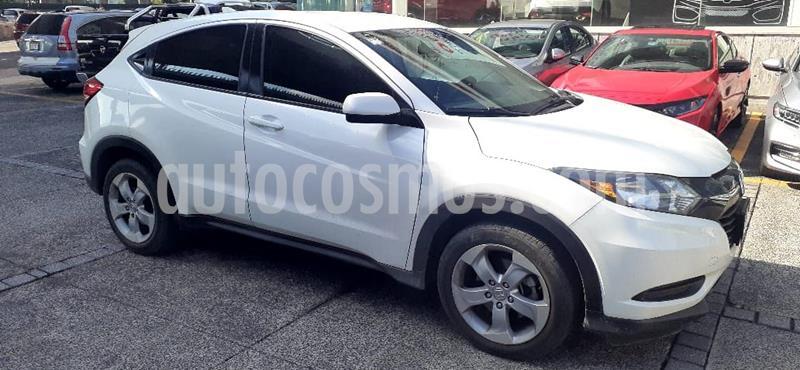 Honda HR-V Uniq usado (2016) color Blanco precio $235,000