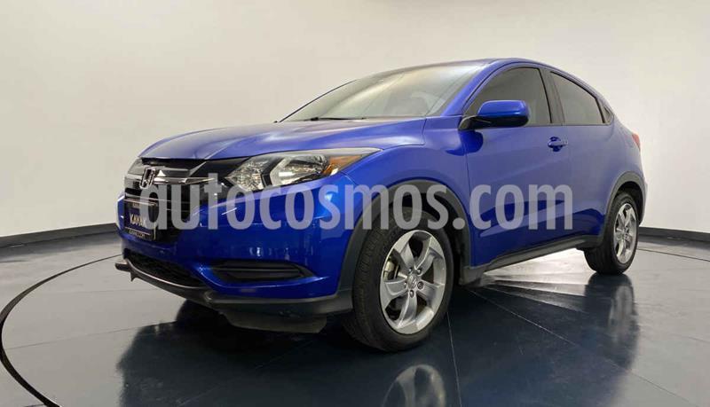 Honda HR-V Uniq usado (2018) color Azul precio $279,999