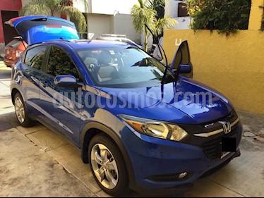 Honda HR-V Uniq Aut usado (2018) color Azul precio $250,000
