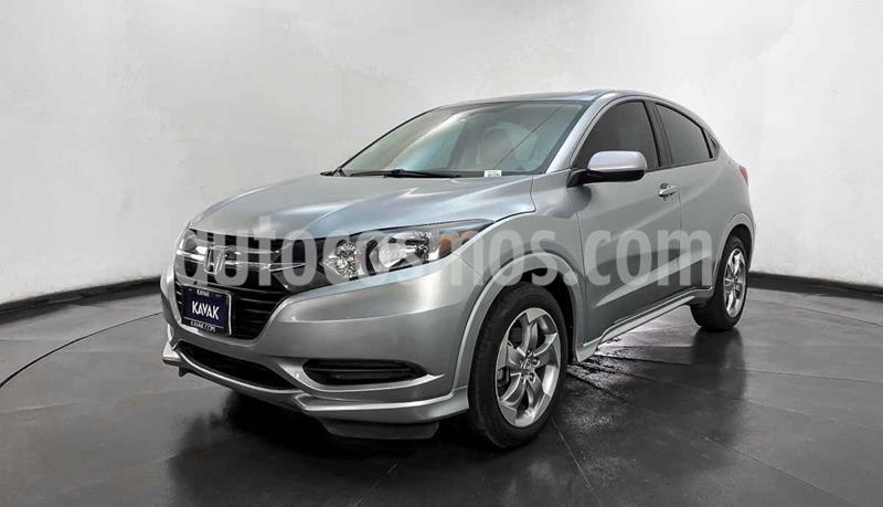 Honda HR-V Uniq Aut usado (2017) color Plata precio $269,999