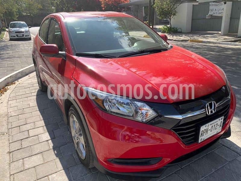 Honda HR-V Uniq usado (2017) color Rojo precio $259,900