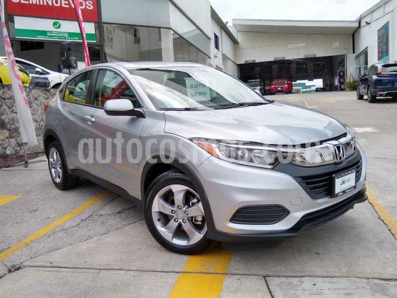 Honda HR-V Uniq usado (2019) color Plata precio $316,900