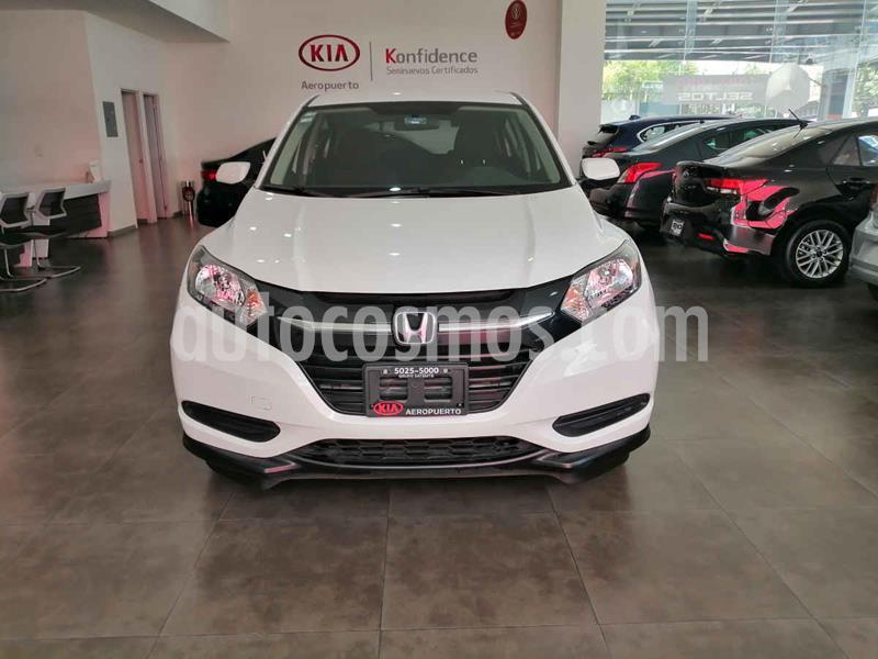 Honda HR-V Uniq Aut usado (2018) color Blanco precio $254,000