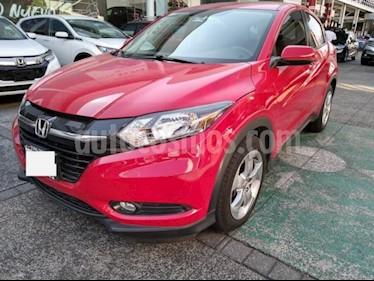 Honda HR-V 5P EPIC CVT QC F. NIEBLA RA-17 usado (2016) color Rojo precio $278,000
