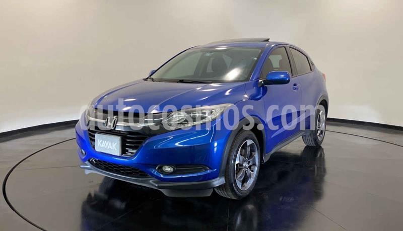 Honda HR-V Touring Aut usado (2018) color Azul precio $334,999