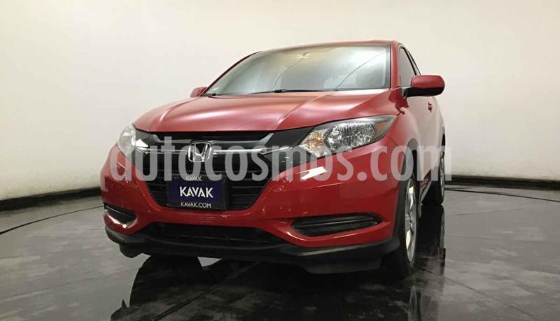 Honda HR-V Uniq usado (2018) color Rojo precio $279,999